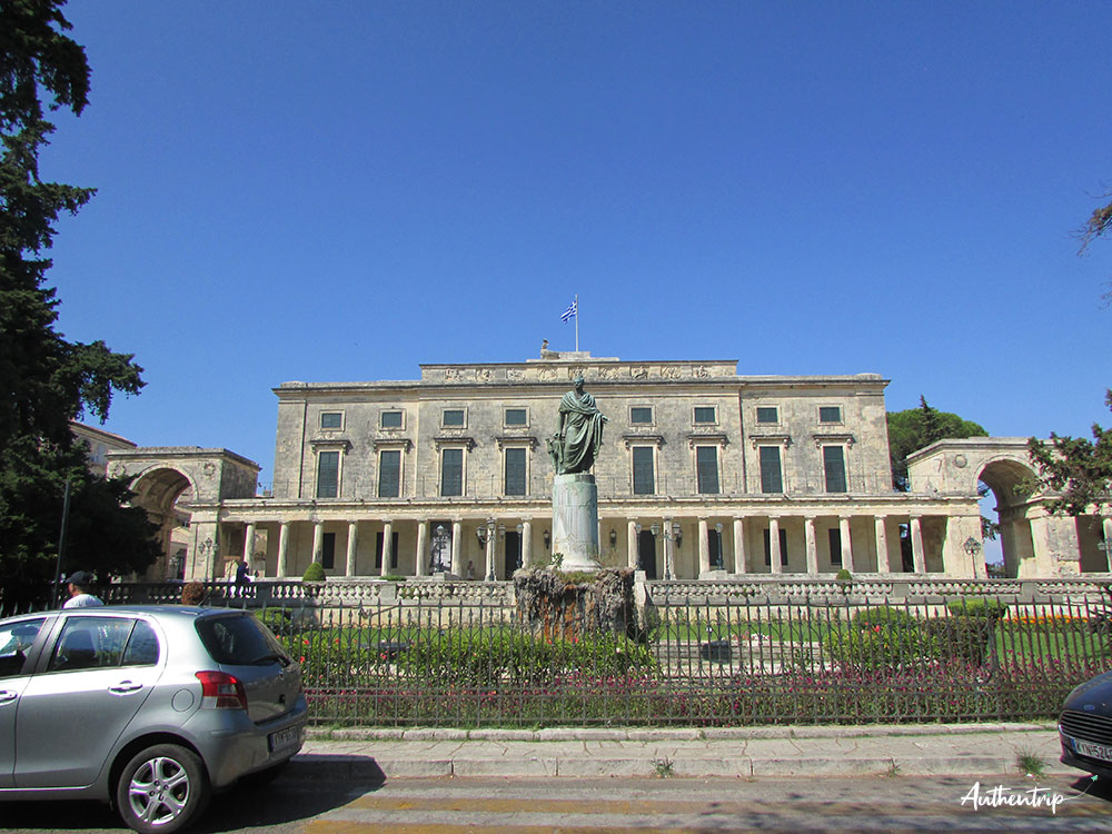 palais corfou