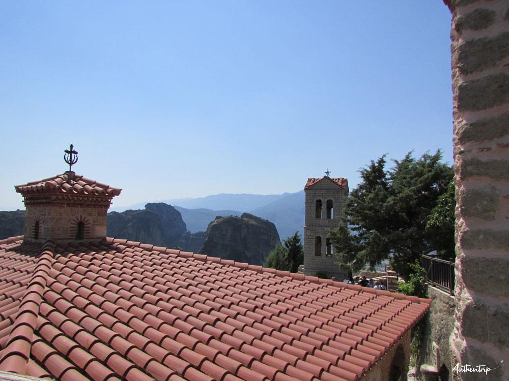 Vue Monastère Météores