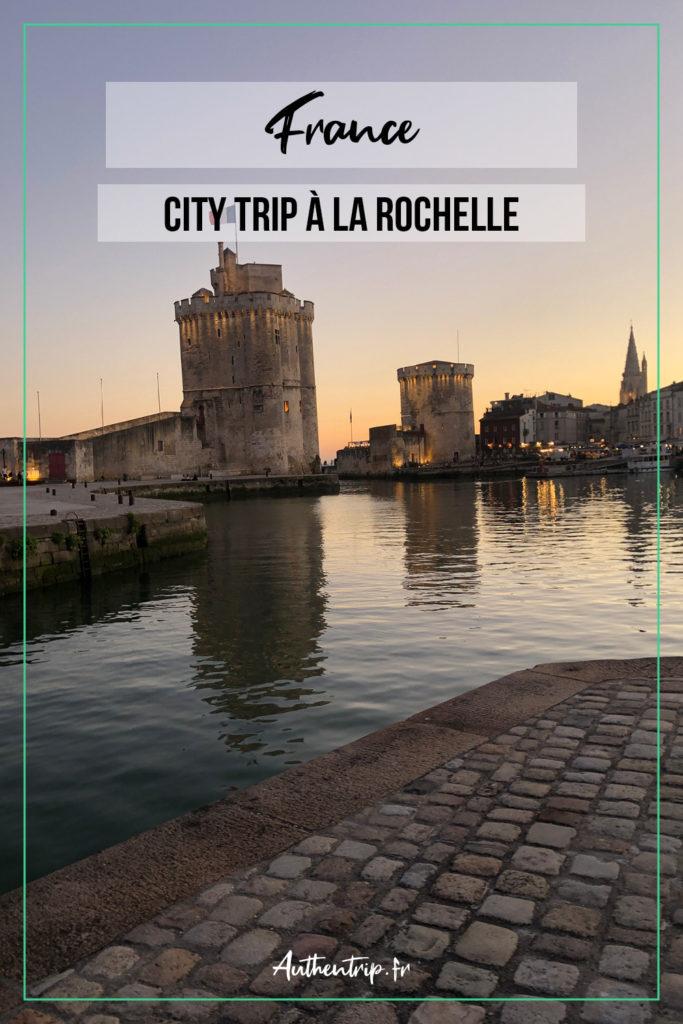 City trip à La Rochelle