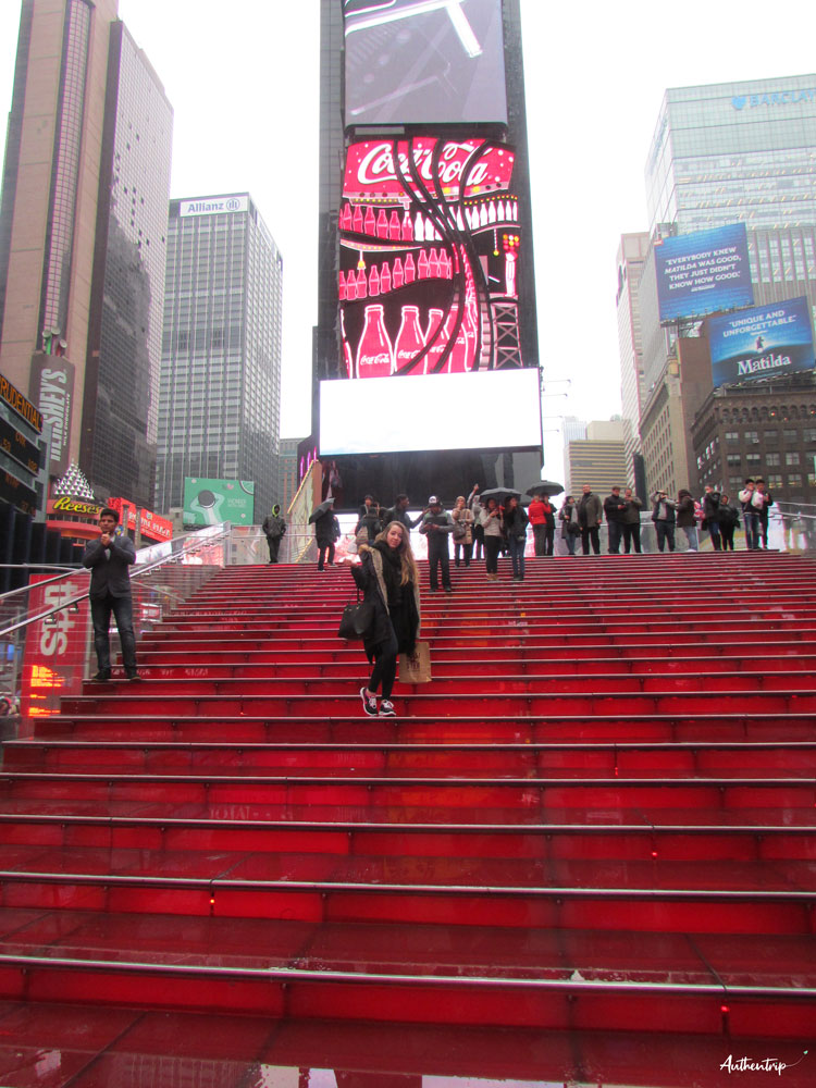 Escaliers Times Square