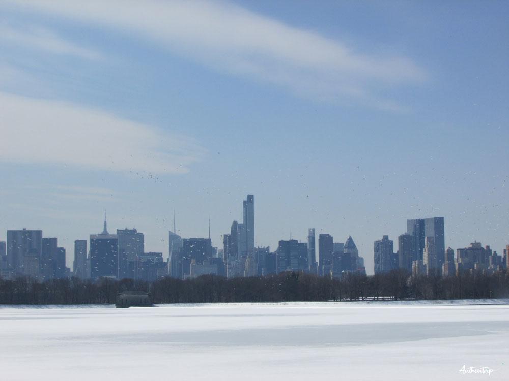 central park vue lac