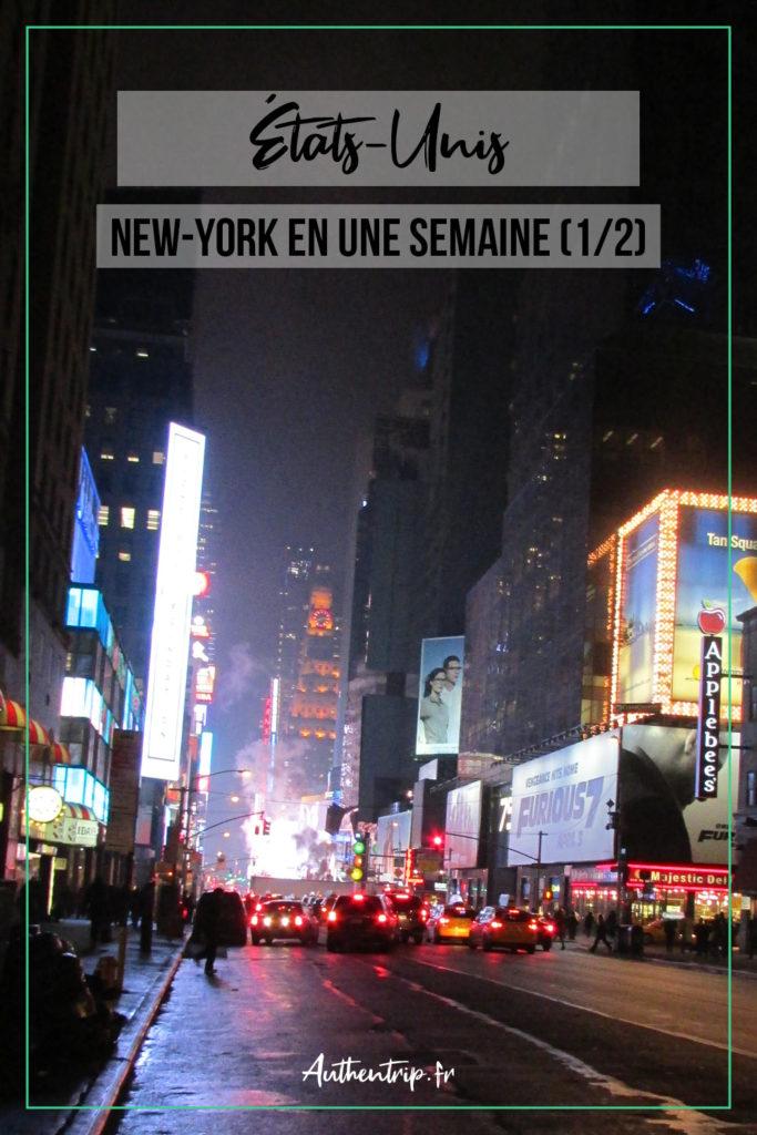 New York en une semaine