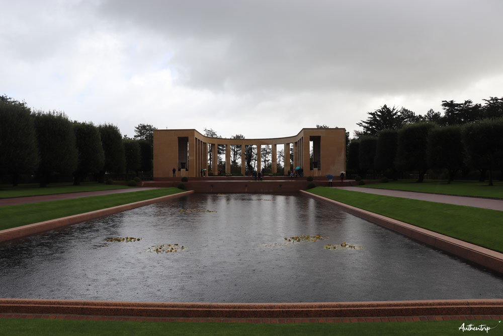 cimetière américain mémorial