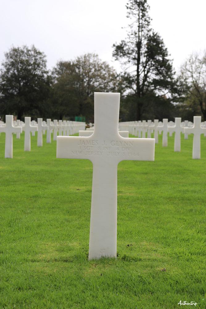 croix cimetière américain