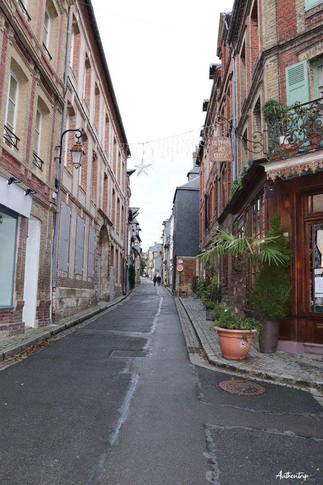 ruelle Honfleur