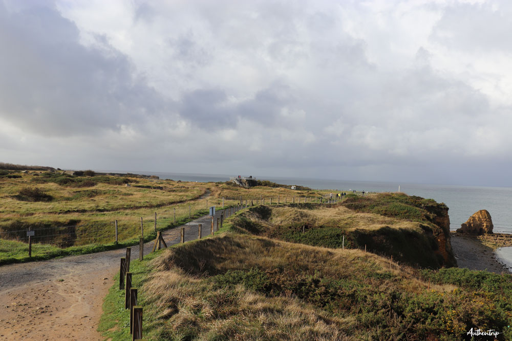 pointe du hoc normandie