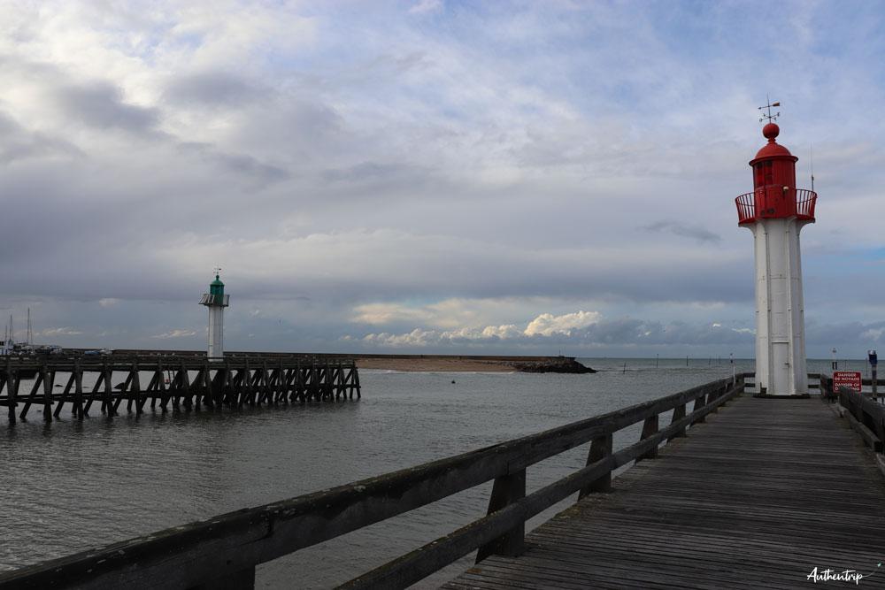 trouville plage phares
