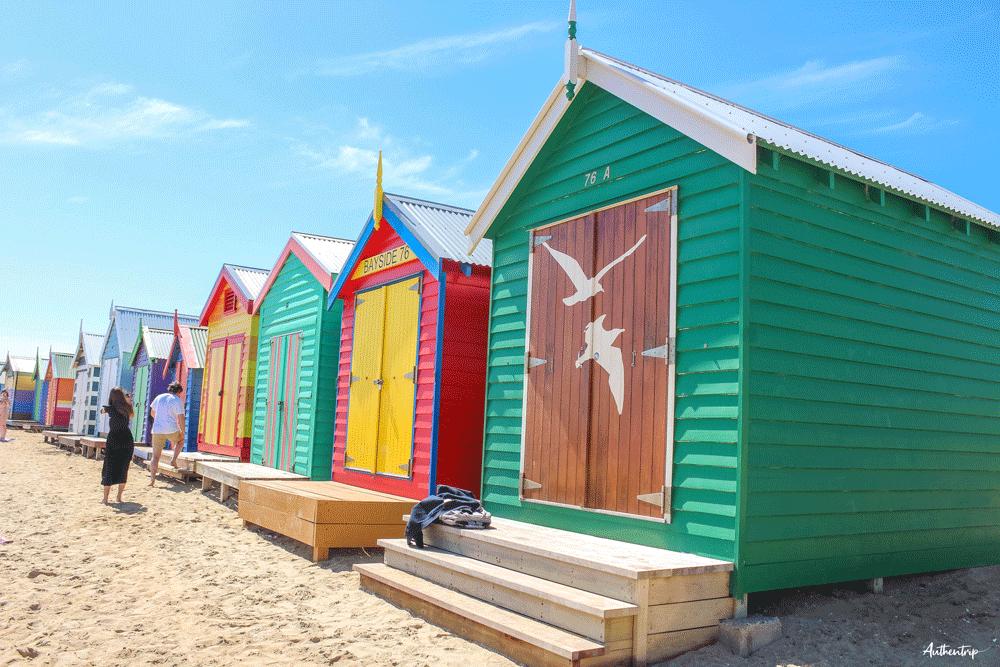 Brighton Beach cabines