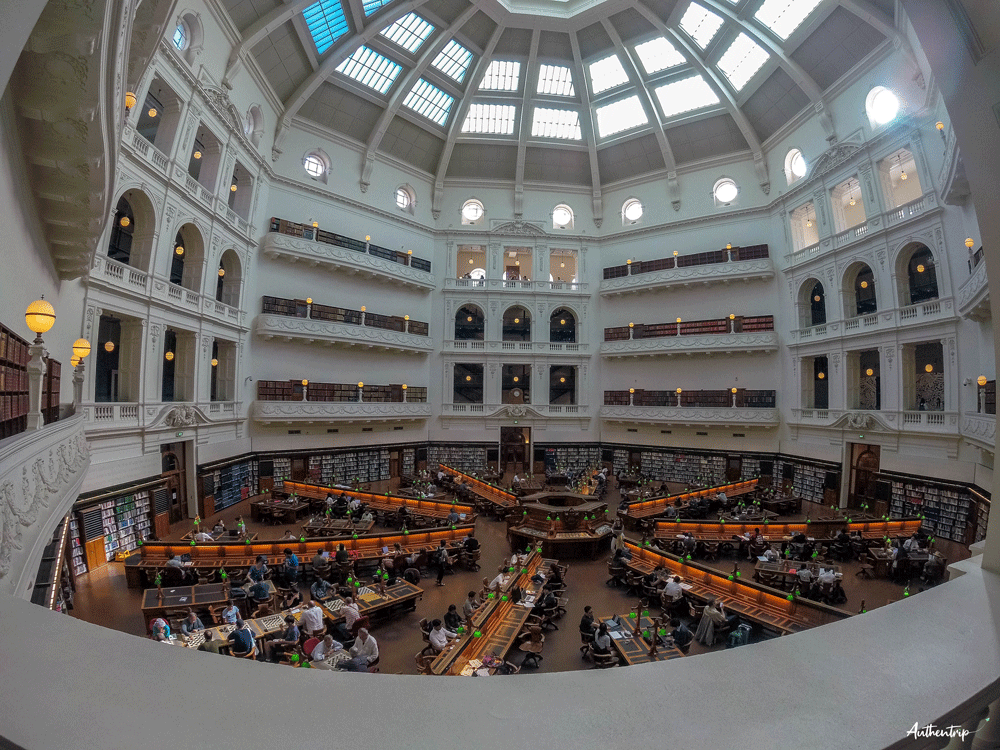 melbourne state library of victoria