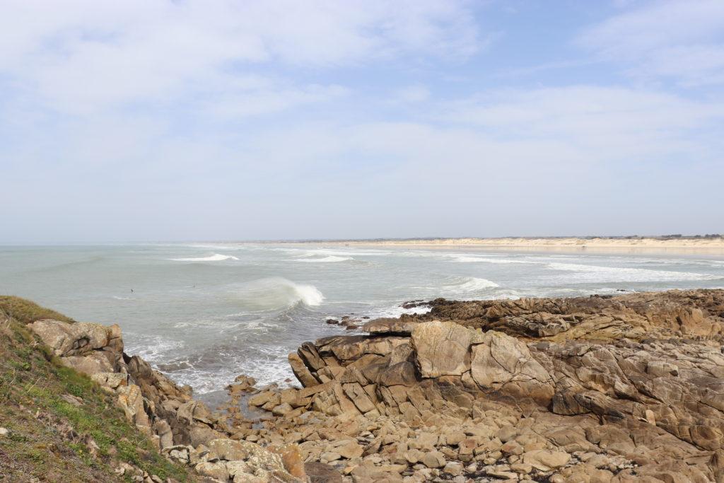 Finistère sud plage plomeur