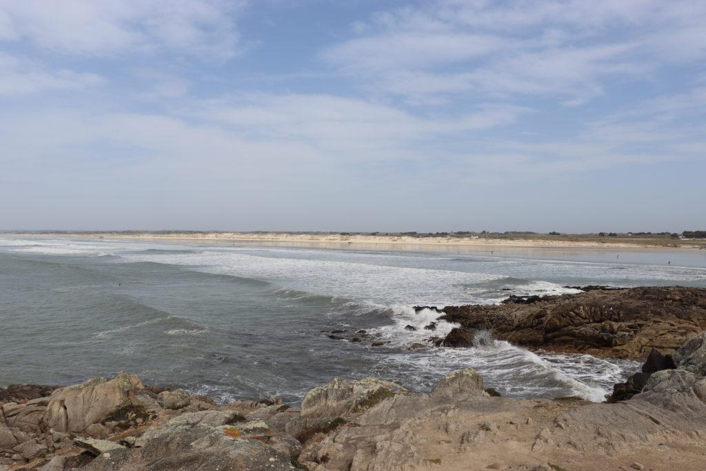 Finistère sud plage torche